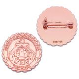 China Manufacturer Cheap OEM Wholesale Promotional Gift Military Cute Printing Flag Men Suit Metal Badge Custom Logo Gold Enamel Lapel No Minimum Order