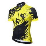 Men Cycling Jersey Short Sleeve T Shirt Apparel Sports Wear MTB Tops Summer Ride Clothes Tracksuit