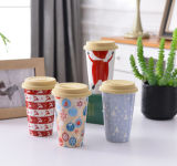 Healthy Bamboo Fiber Material Coffee Cup (YK-BC4070)