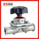 SS316L Manually Operated 2/2-Way Metal Diaphragm Valve