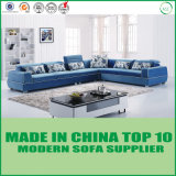 Modern Home Living Room Furniture Fabric Corner Sofa