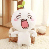 Creative Performing Soft White Anime Plush Toy for Children