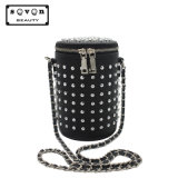 Rivet Drum Handbag Bucket Handbag