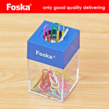 Foska Stationery Office School Plastic Magnetic Clip Box