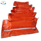 150 Meters PVC Solid Float Oil Absorbent Spill Containment Boom and Silt Curtain