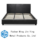 King Size Furniture Accessory Metal Wooden Slat Bed Frame (A001)