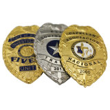 Cheap Custom Metal Army Police Security Badge Pin for Decoration (YB-p-013)