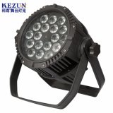 IP65 Waterproof Outdoor Stage 18*15W RGBWA 5in1 LED PAR Light