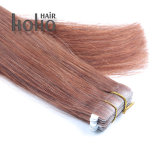 16 Inch Brown Tape in Brazilian Virgin Human Hair Extension