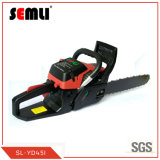 High Efficient Gasoline Chain Saw With High Durable Chain