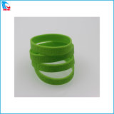 Manufacturing Good Price Ink-Filled Silicone Bracelets for Promotional