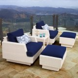 Leisure Single Sofa Rattan Sofa Outdoor Leisure Garden Sofa (S104)