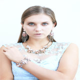 New Item Resin Glass Acrylic Stones Fashion Jewellery Earring Bracelet Necklace