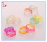 Wholesale Jewelry Glow in Dark Cheap Custom Silicone Wedding Ring
