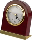 Luxury Table Silent Wooden Alarm Clock with Light