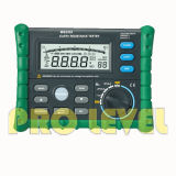 Large LCD Display Earth Resistance Tester (MS2302)