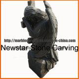 Granite Angel Tombstone for Graveyard for Family Monument mm1734