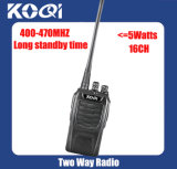 Kq-328 UHF 400-470MHz Dust Resistant Cost -Effective Walkie Talkie
