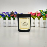 Custom Scented Soy Black Jar Candle for Parties