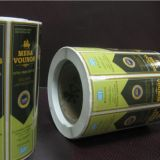 Self Adhesive Label for Plastic and Glass Bottles Cans