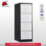 Metal Office Furniture 4 Drawer Storage Vertical Filing Cabinet
