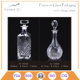 800ml Super Flint Glass Rum Bottle/Glass Liqueurs Bottle