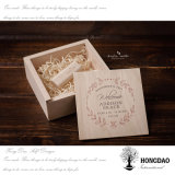 Hongdao Customized Logo Small Box Wooden USB Flash Drive Packing Box Wholesale Price _E