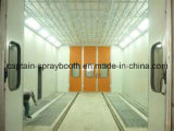 Long Bus Spray Paint Booth, Coating Line Machine Spray Booth