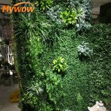 Artificial Flower Vertical Fence Green Wall for Wedding Party