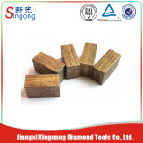 Hard Abrasive Stone Sawing Diamond Segment for Granite
