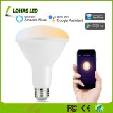 10W Br30 E26 80W Equivalent WiFi Smart LED Light Bulb