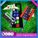Flexible Silk Screen Printing Panel Control Metal Dome Membrane Switch Circuit