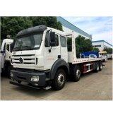 Cheap Euro II 8X4 370HP Heavy Duty Flatbed Tow Truck