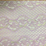 Nylon Cotton Lace Fabric (carry with oeko-tex certification)