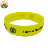 Cheap Customized Silicon Wristband with Logo for Fitness
