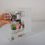 Clear Perspex Earring Display Case to Display up to 60 Pairs of Earrings