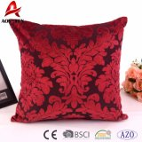 Competitive Price Custom Luxury Square Chenille Jacquard Cushion