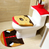 Christmas Decorations Reindeer Toilet Lid Covers and Rug Set Toilet Seat Covers