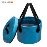 Heavy Duty Folding Wash Basin Water Container Collapsible Bucket for Camping Fishing