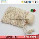 Cotton Fiber Exfoliating Soap Bag SPA Shower Bath Scrub Glove (KLB-128)