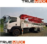 21m Concrete Pump with Boom, Truck Mounted Boom Pump