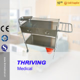 Stainless Steel Hospital Instrument Trolley (THR-MT014)