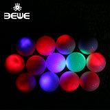 Wholesale Glow in Dark Colorful Flashing Luminous Golf Ball