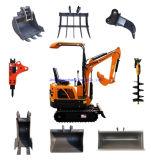 Construction Equipment Machinery 0.8 Ton 1 Ton 1.8 Ton 2 Ton 3 Ton Hydraulic Crawler Mini Excavator for Sale RC Small Micro Digger Machine Prices