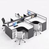 Modern 4 Seater Office Cubicle Office Desk Computer Desk Office Workstation