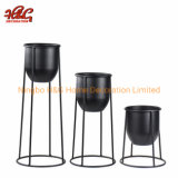 Metal Plant Stand with Pot Metal Planter
