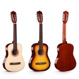 Hot Sale Musical Instrument Low Price Top Spruce Acoustic Guitar for Beginner
