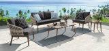 PE Rattan Weaving Outdoor Sofa Set