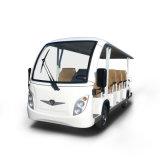 Wholesale 14 Seats Good Quality Zhongyi Sightseeing Electric Shuttle Bus