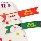 Christmas Decorations Food Sealed Bottles Printing Label Sticker Adhesive Custom